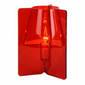 LUCIDE TRIPLI Table Lamp E14 H25 D20cm Red, stolní lampa