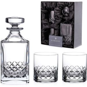 Diamante broušený whisky set Grosvenor 1+2