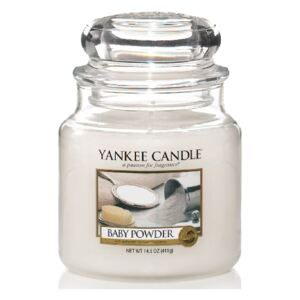 Yankee Candle - Baby Powder 411g (Dětský pudr)