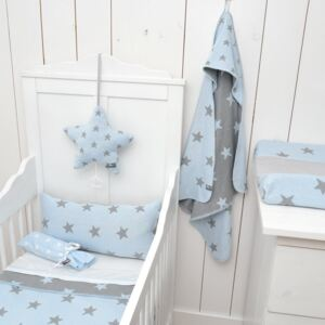 Baby´s Only Star Teddy Blanket - Dětská deka 14933-02. Baby Blue/Grey 95x70