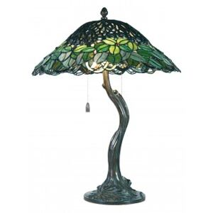 ClayreC Stolní lampa Tiffany Aubervilliers 5LL-5386