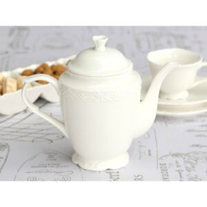 Porcelánová konvice na kávu Provence 900 ml, Chic Antique