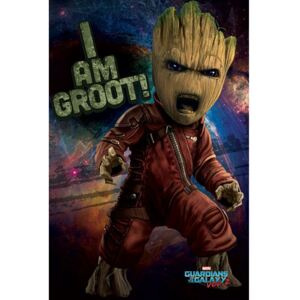 Pyramid International Plakát Guardians of the Galaxy 2 - Angry