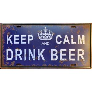 Cedule Keep Calm Drink Beer