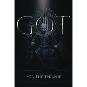 Pyramid International Plakát Game of Thrones - Night King for the Throne