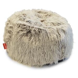 BeanBag Sedací vak Shaggy Multicolor white-brown