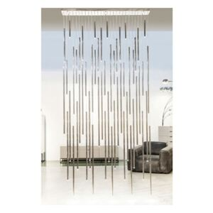 KARE DESIGN Lustr Living Vegas Deluxe Chrome LED, Vemzu