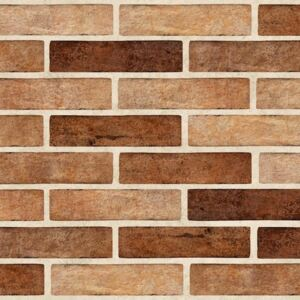 Obklad Multi Brick Tones orange 6x25 cm mat BRTONESOR