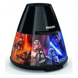 LED LAMPIČKA S PROJEKTOREM 2 v 1 Star Wars 71769/30/P0 - Philips
