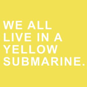 Ilustrace We all live in a yellow submarine, Finlay & Noa