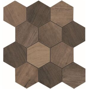 EBS Aspen hexagon 31,6x27,4 brown