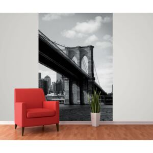 1Wall fototapeta New York-Brooklynský most 158x232 cm