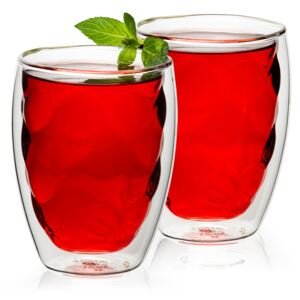 Termo sklenice Raspberry Hot&Cool, 250 ml, 2 ks