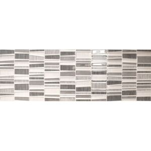 Dekor Fineza Cube Way grey 25x75 cm lesk DCUBEWAY