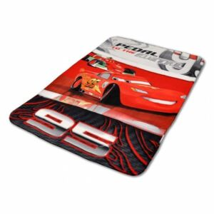 Jerry Fabrics Deka fleece Licenční 100x150 - Cars Metal 2016