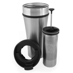 Planetary Design Tea tumbler brushed steel 470 ml