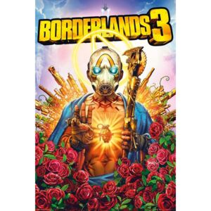 Plakát, Obraz - Borderlands 3 - Cover, (61 x 91,5 cm)