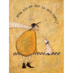 Obraz na plátně - Sam Toft, How Did We Get So Old, Doris?