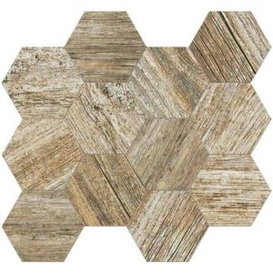 Mozaika Fineza Timber Design ambra 31,5x36,5 cm mat TIMDEMOSESAM