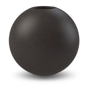 COOEE Design Váza Ball Black - 10 cm