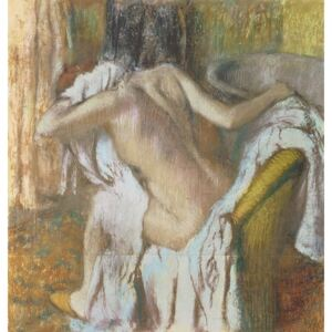 Obraz, Reprodukce - Woman drying herself, c.1888-92, Edgar Degas