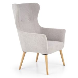 COTTO leisure chair, color: light grey