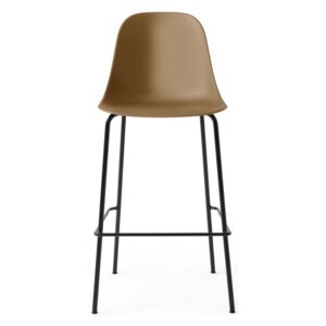 Menu Barová židle Harbour Side Chair 63 cm, khaki/black steel