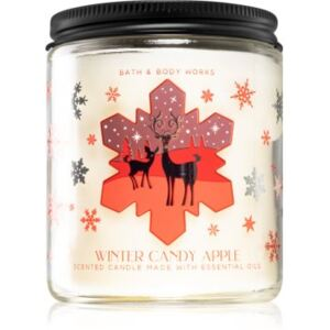Bath & Body Works Winter Candy Apple vonná svíčka 198 g