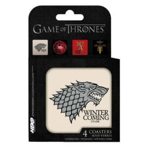 ABYstyle Podtácky Game of Thrones - Houses (4 ks)