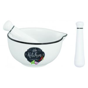 Porcelánový hmoždíř Kitchen Basic Easy Life R1607-KIBK
