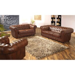 Askont Sedací souprava Chesterfield Windsor 3+2+1