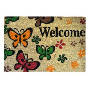 Vopi Rohožka 147 Ruco print 400 Welcome butterfly 400 Welcome butterfly