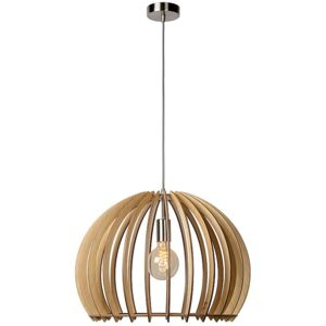 LUCIDE BOUNDE - Pendant light - Ø 50 cm - Wood