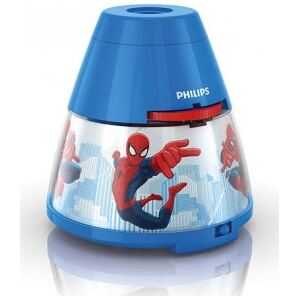 LED LAMPIČKA S PROJEKTOREM 2 v 1 Marvel Spider-Man 71769/40/16 - Philips