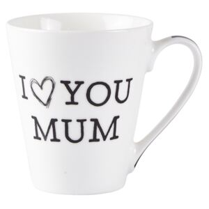 Porcelánový hrnek I LOVE YOU MUM