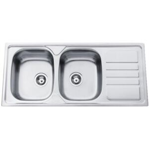 Sinks OKIO 1160 DUO V 0,6mm matný