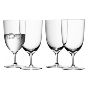 LSA Wine sklenice na vodu 400ml, set 4ks, Handmade
