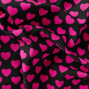 Fleece – Heart FLUO