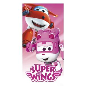 Osuška Super Wings pink 70/140 CERDA