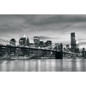 Postershop Fototapeta: Brooklyn Bridge - 184x254 cm