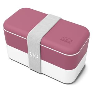 Svačinový box MonBento Original Blush | bordo