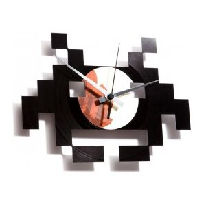 Hodiny Discoclock 028 Space invaders 30cm