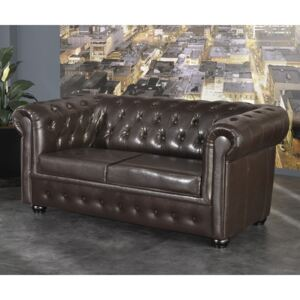 Chesterfield Bis Pohovka 2M antique brown