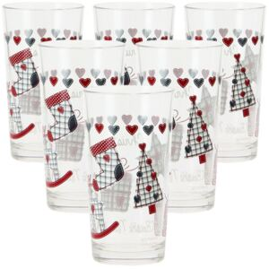 Mäser 6dílná sada sklenic na long drink CHRISTMAS GIFT, 250 ml