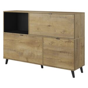 NEST KM-1 chest color: lefkas oak / black