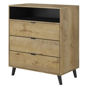 NEST KM-2 chest color: lefkas oak / black