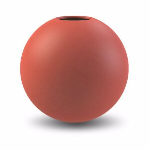 COOEE Design Váza Ball Rust - 8 cm
