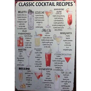 Cedule Classic Cocktail Recipes