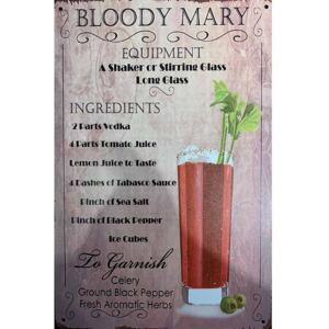 Cedule Bloody Mary