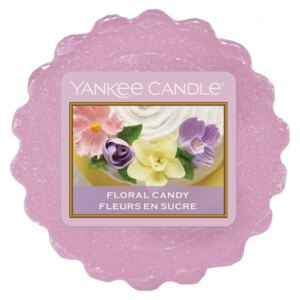 Vonný vosk do aromalampy Yankee Candle Floral Candy 22g/8hod